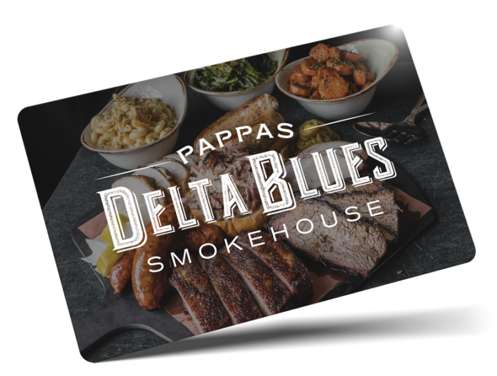 Pappas Delta Blues Gift Cards